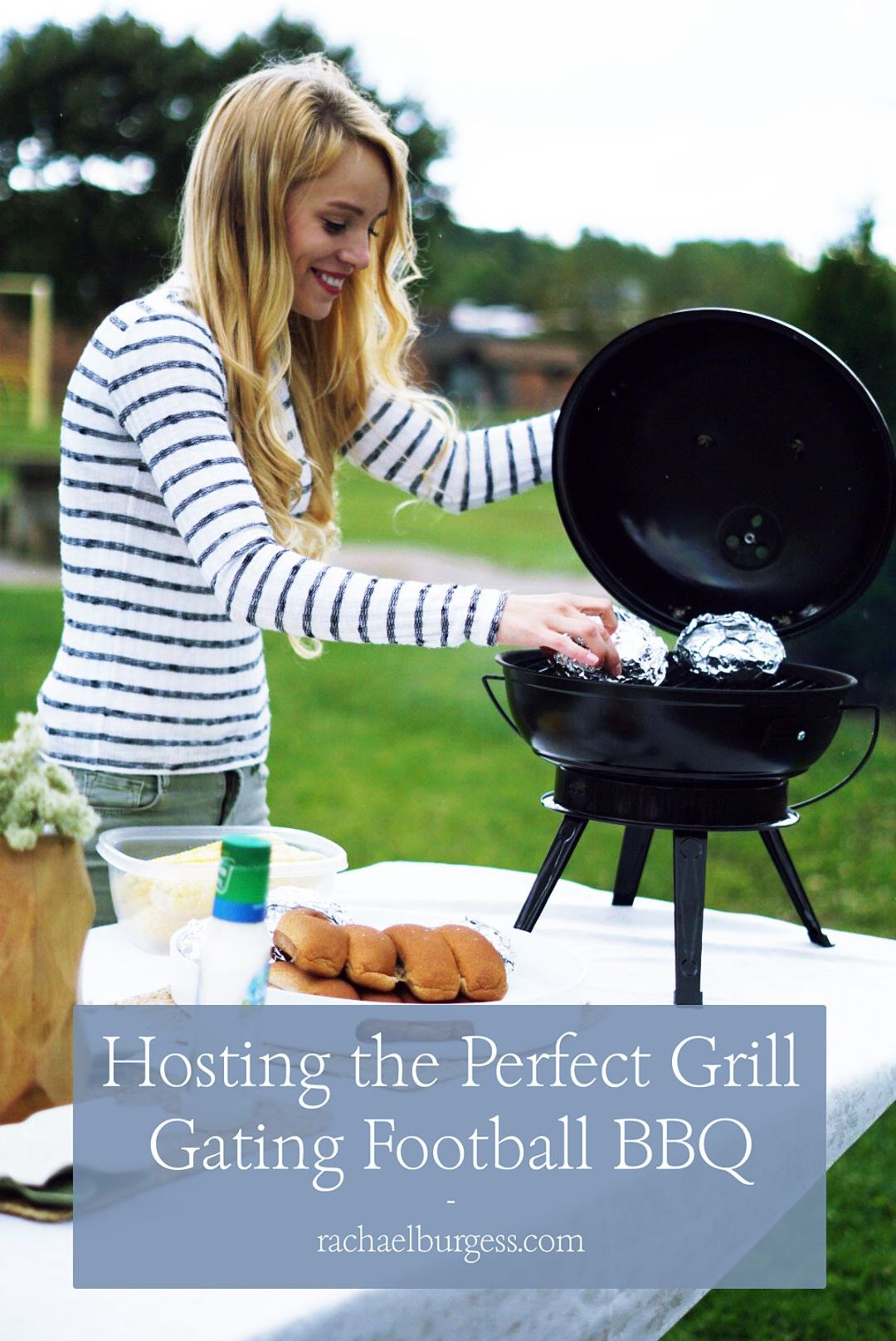 Football Grill Gating Party | Rachael Burgess