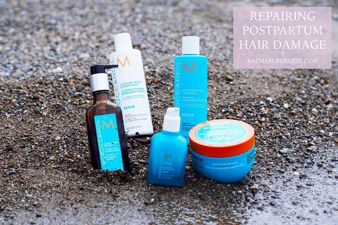 Repairing Mother Postpartum Hair Damage | Rachael Burgess