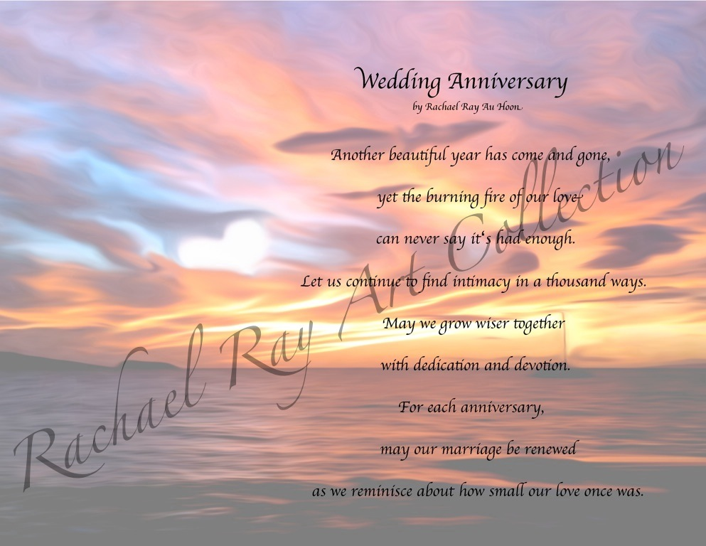 Happy Anniversary Heaven Poems