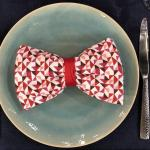 Video Tutorial How To Fold A Bow Tie Napkin Rachael Ray Show
