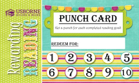 summer punch card with border and logo 2