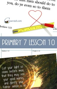 Chicken Scratch N Sniff Primary 7 Lesson 10