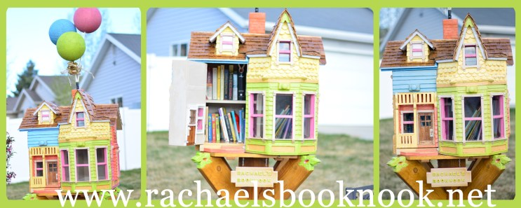 Rachael's BookNook Little Free Library, Up House