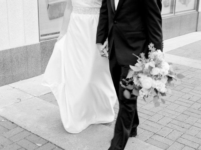 wedding  Black Tie Rooftop Wedding