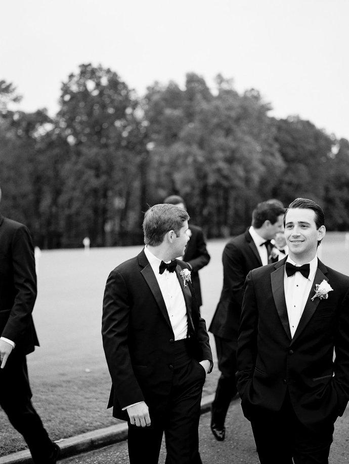wedding  Romantic Black Tie Wedding at Greystone Country Club