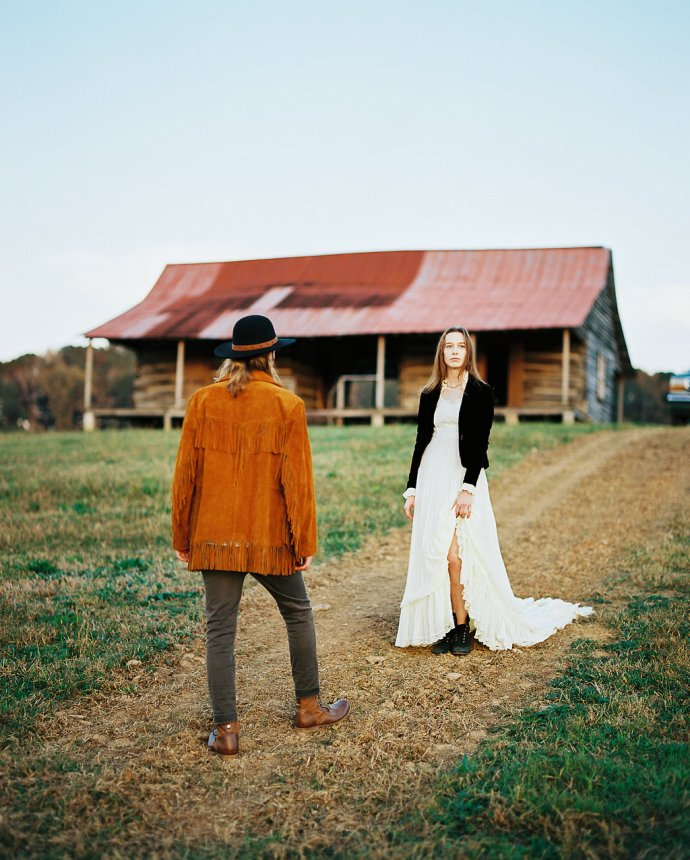 wedding  Young Wild & Free at Pursell Farms