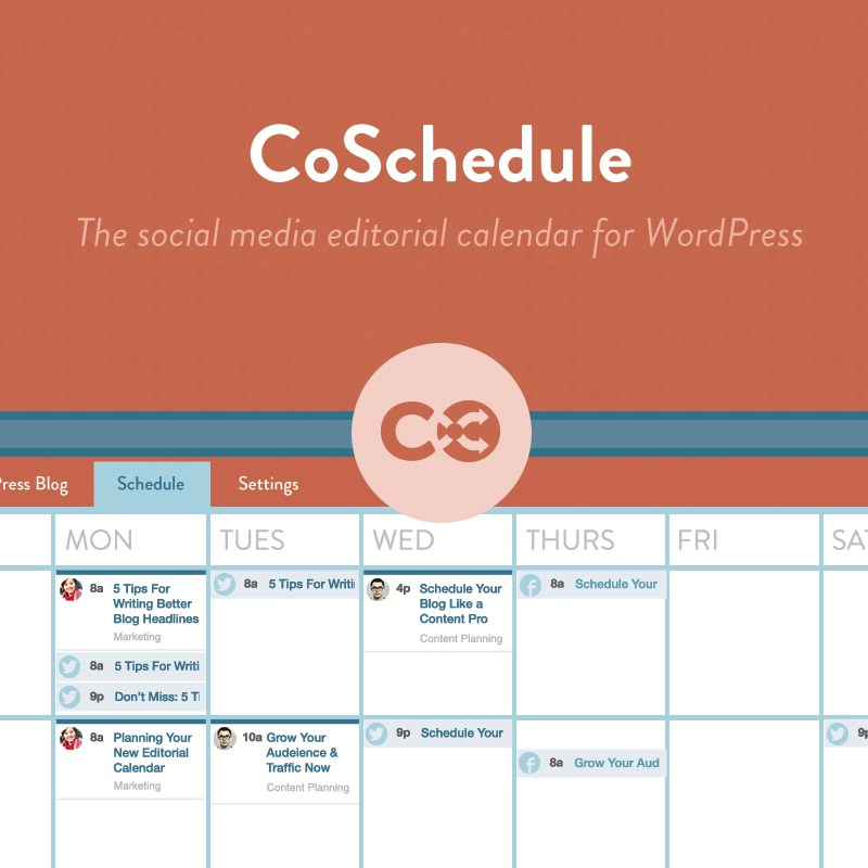 Choosing Human talks about her favorite wordpress plugin CoSchedule
