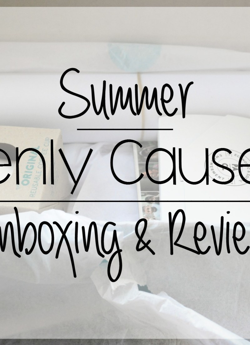 Sevenly Summer Causebox Review