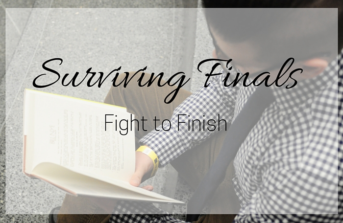 Fight to Finish: Surviving Finals Week in College