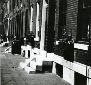 RowHousesCirca1950
