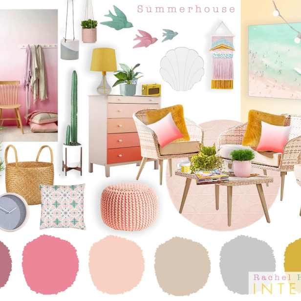 Hospice summer house concept board