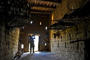 Securing a grape drying house in Afghanistan