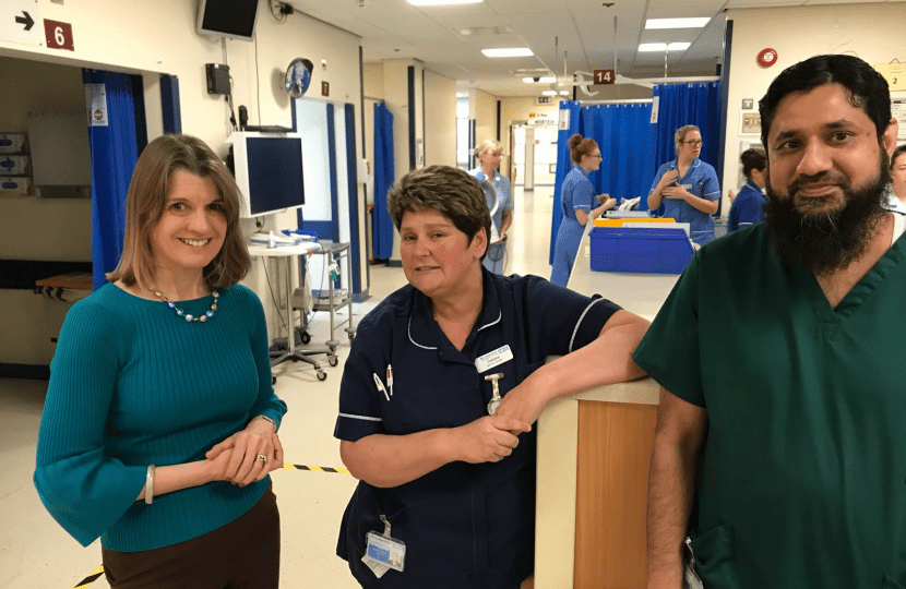 Rachel praises staff at Alex and residents following snow