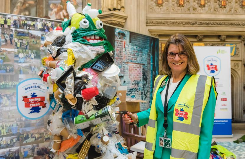 Rachel urges residents to get together and clean up our town