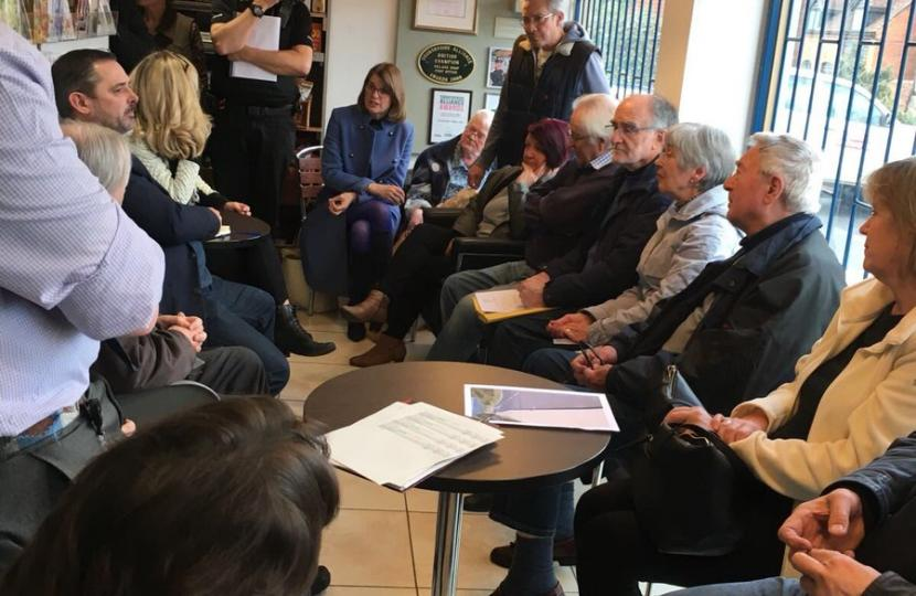 Local residents' welcome improvement in Feckenham speeding situation