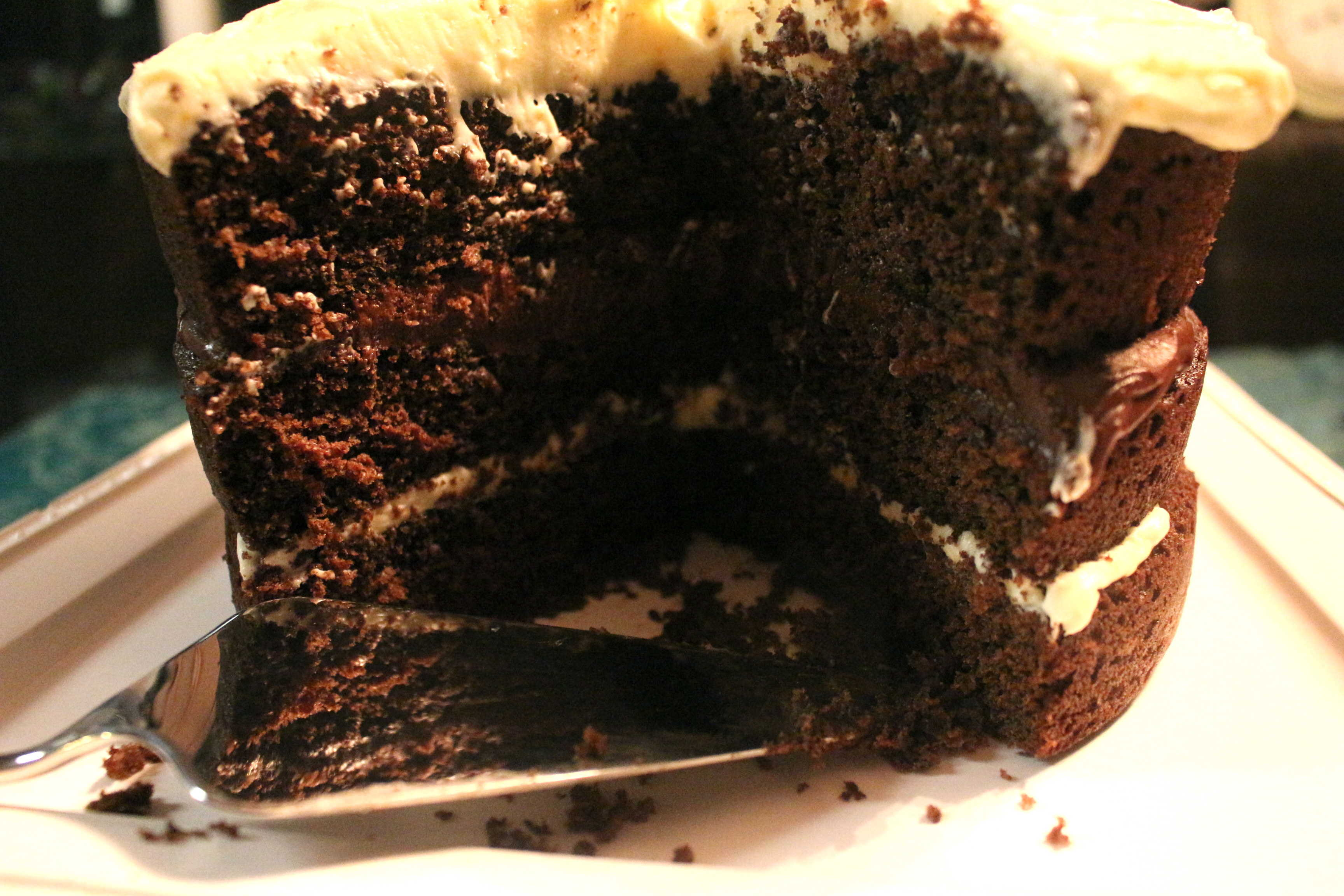 Chocolate Orange Layer Cake