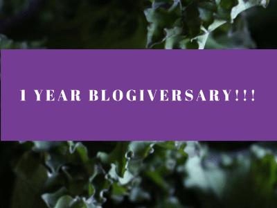 1 Year Blogiversary!