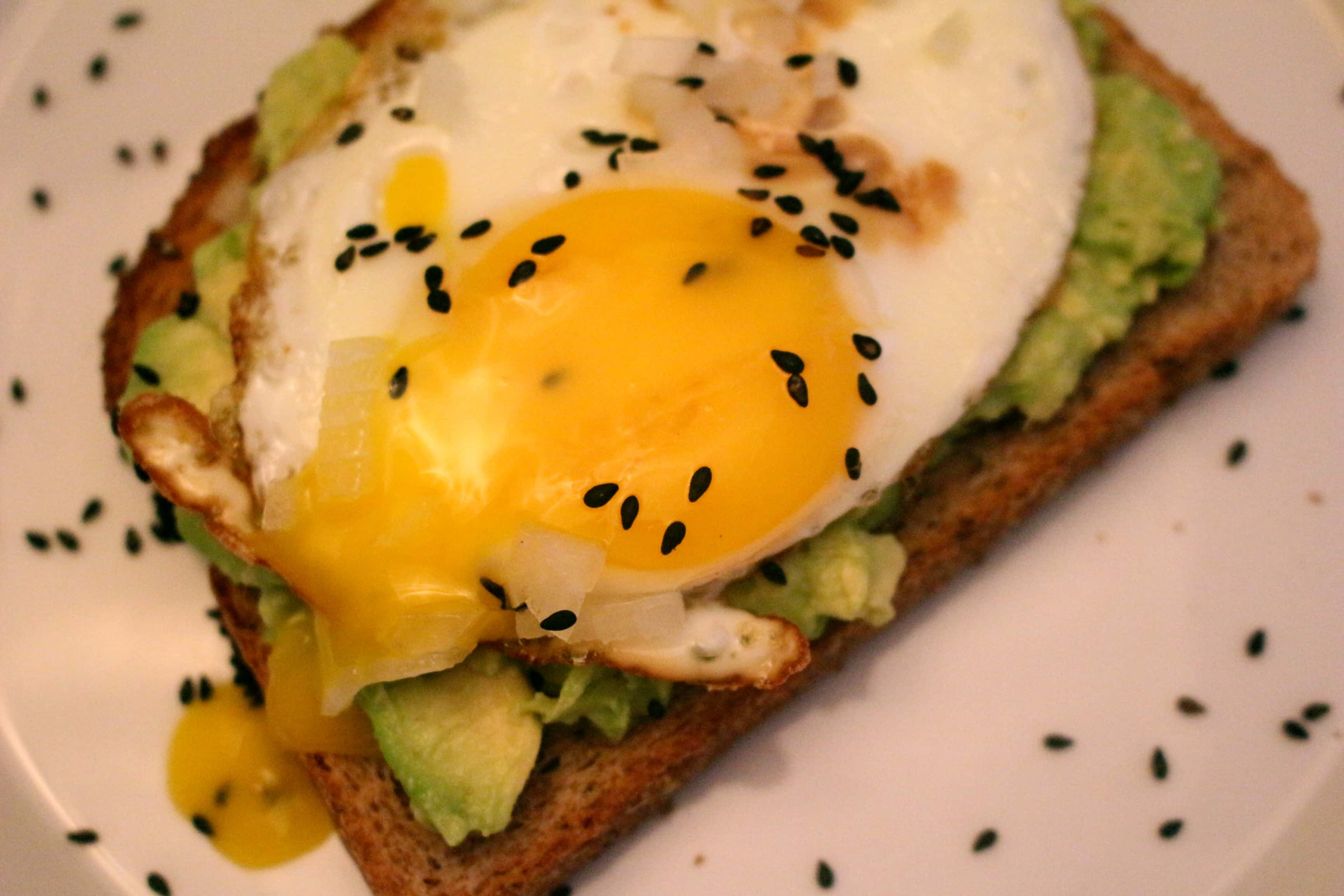 Tahini Avocado Toasts