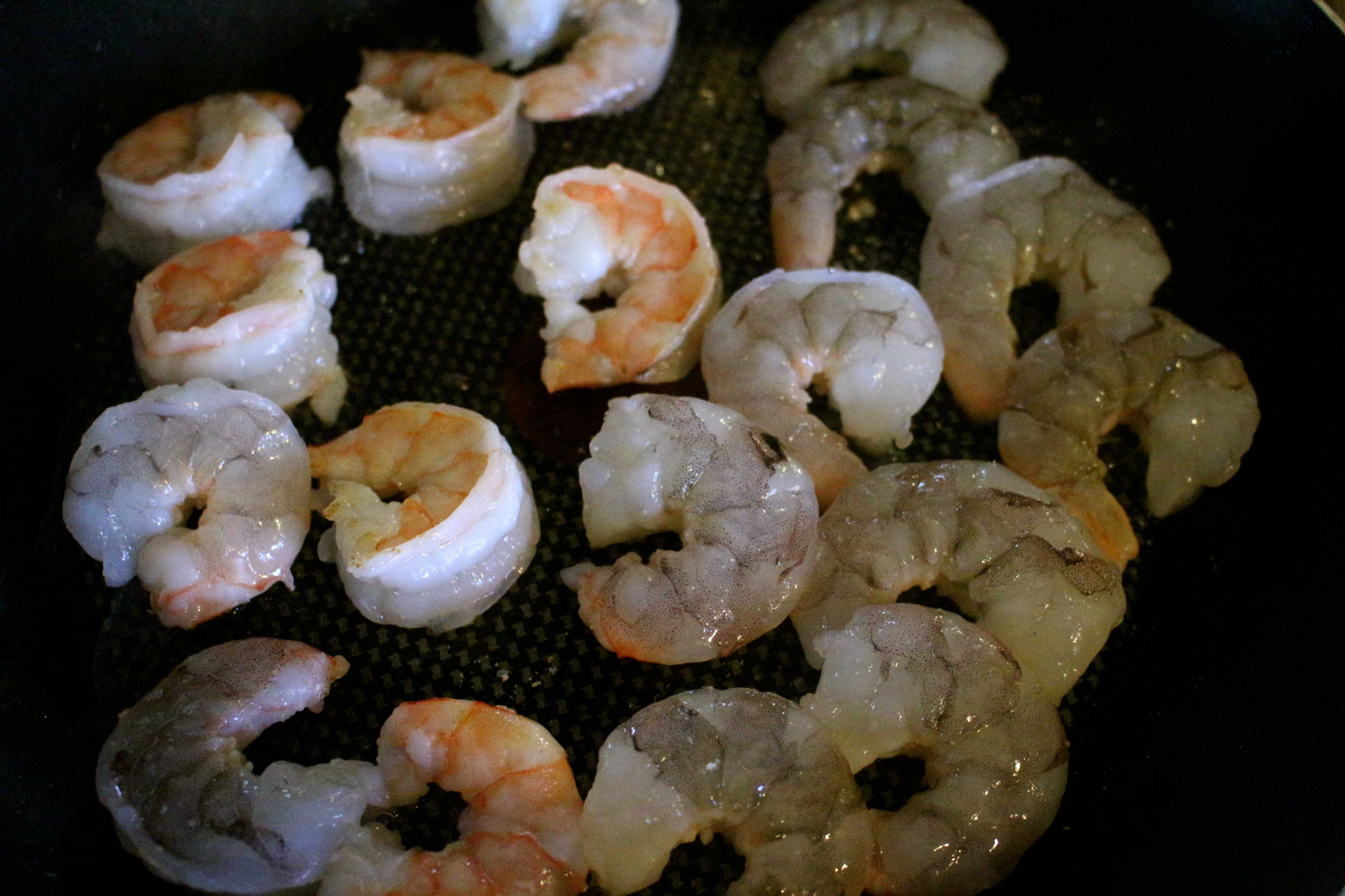 Opaque color shrimp once shrimp are cooked - Now You Ll Just Cook The Shrimp Another 4 Minutes Or So Or Until They Are Firm And Opaque In The Center Set The Shrimp Aside To Cool