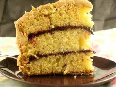 PB&J Layer Cake