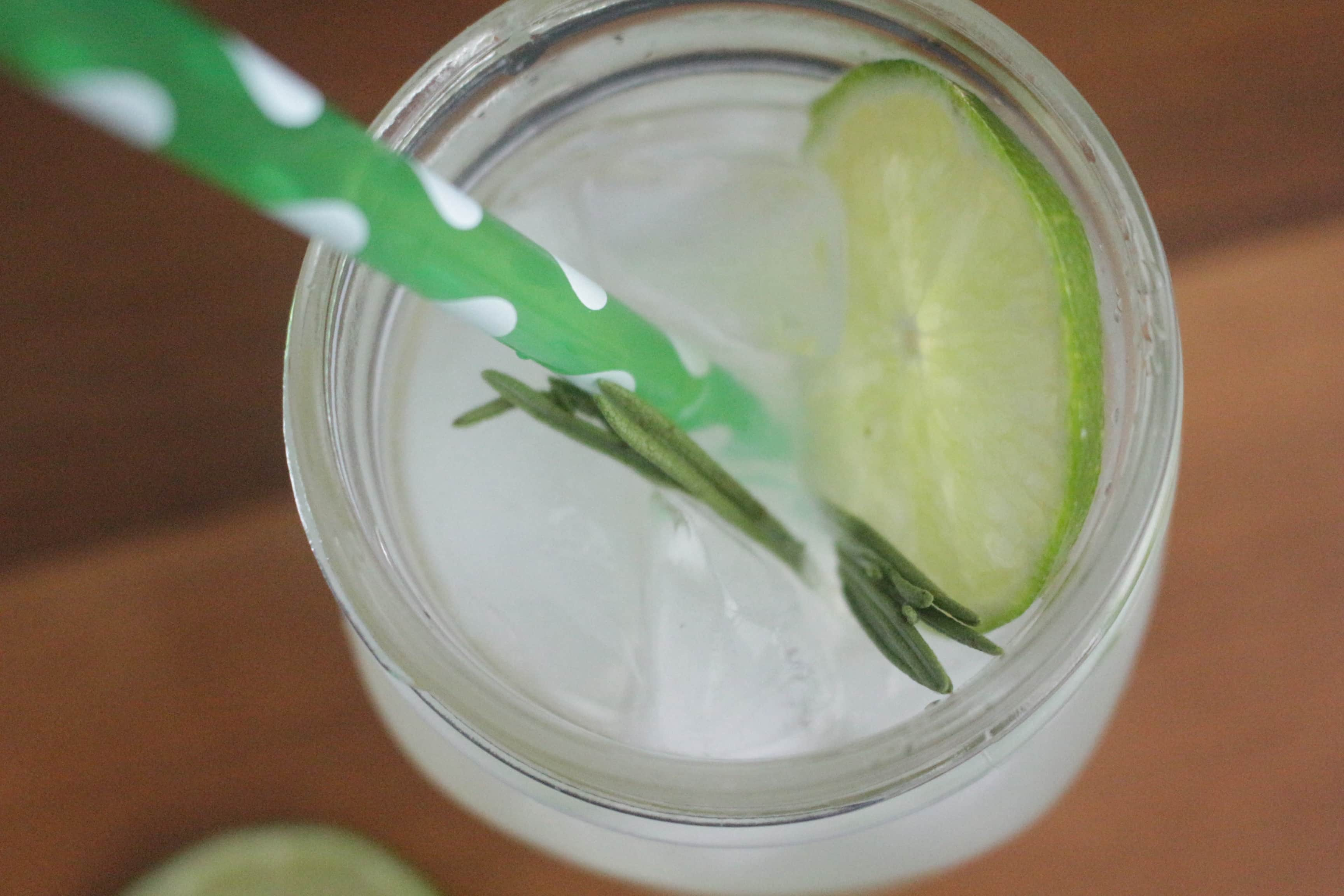 Don't Judge Me Mondays: Boozy Rosemary Limeade