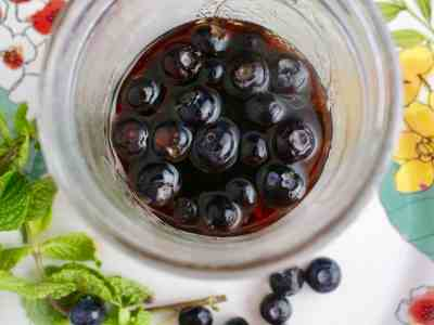 Pickled Blueberries