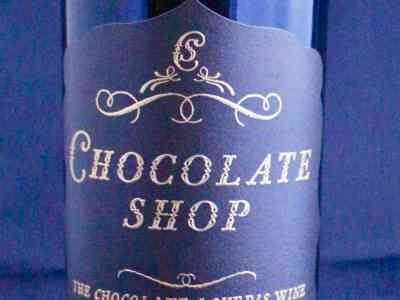 Don't Judge Me Mondays: Chocolate Shop wine
