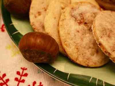 FBLCookie Exchange: Chestnut Shortbread