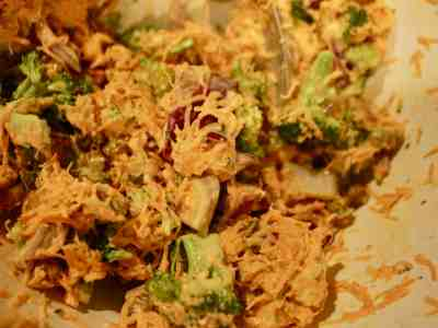 Carrot and Broccoli Salad