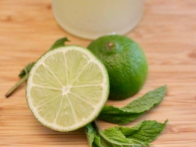 Lime Mint Simple Syrup