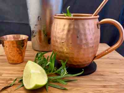 Don't Judge Me Mondays: Tarragon Mule