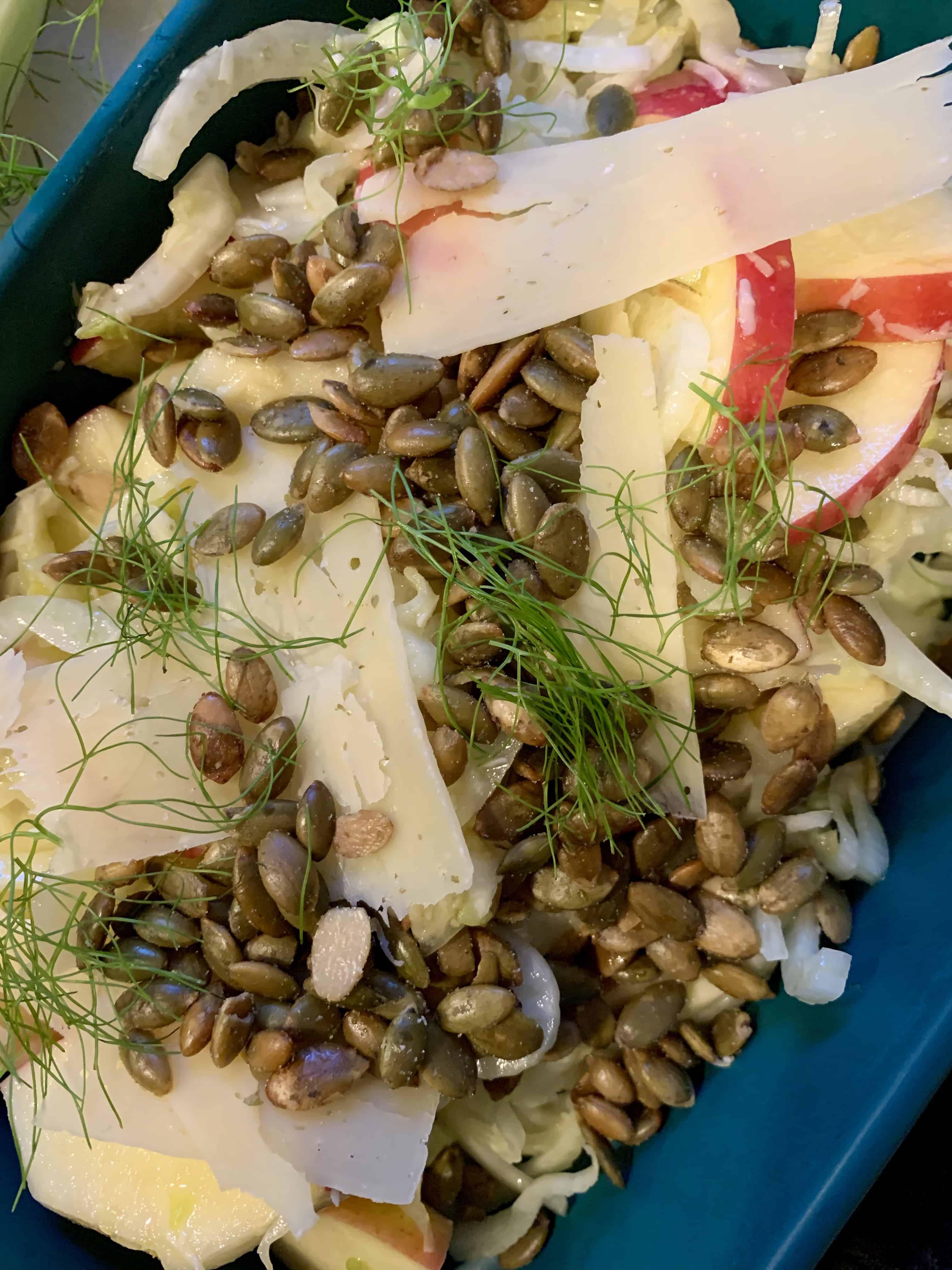Shaved Fennel & Apple Salad