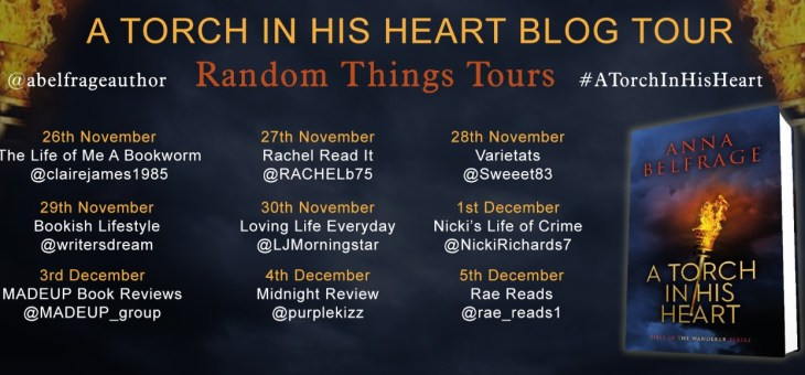BlogTour-'A Torch In His Heart' by Anna Belfrage