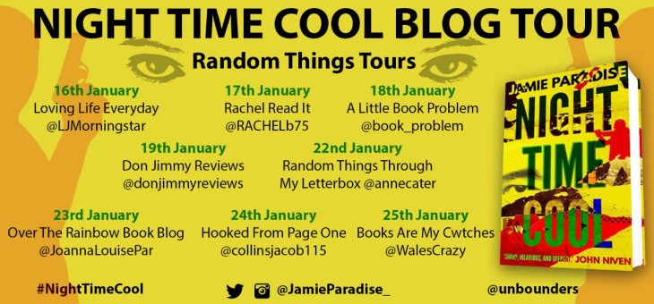 Blog Tour-'Night Time Cool' by Jamie Paradise