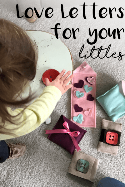 Tutorial: Heart Felt Love Letters toy for little kids
