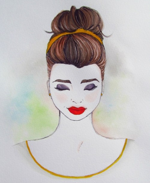 She Boldly Wore Red Lipstick