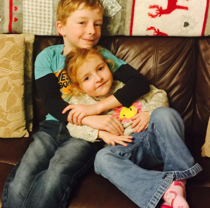 #LivingArrows – Snuggling On The Sofa After School
