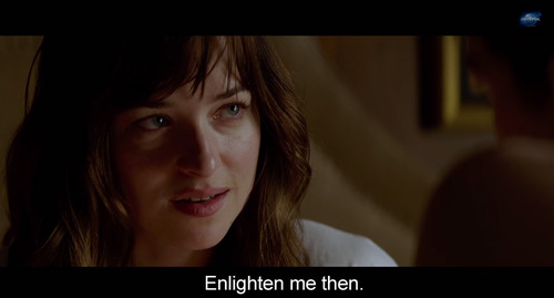 Ten Questions For Fifty Shades Anastasia Steele