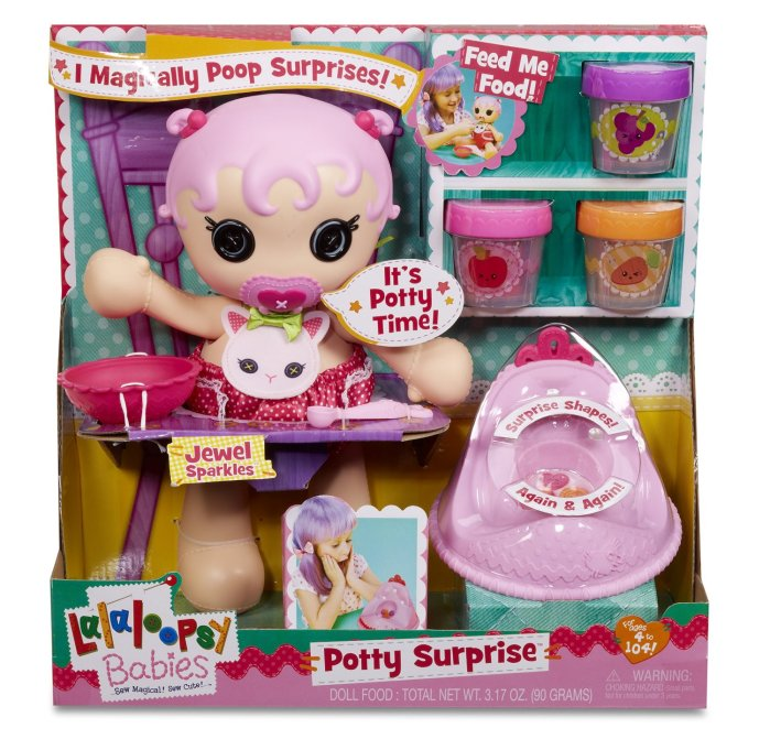 The Lalaloopsy Babies Potty Surprise Doll – The Doll That Sh**s Shapes!