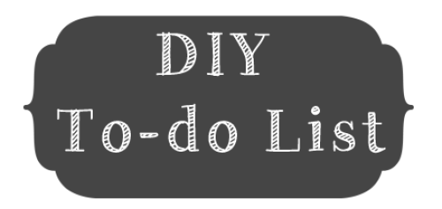 The Never Ending DIY Lists