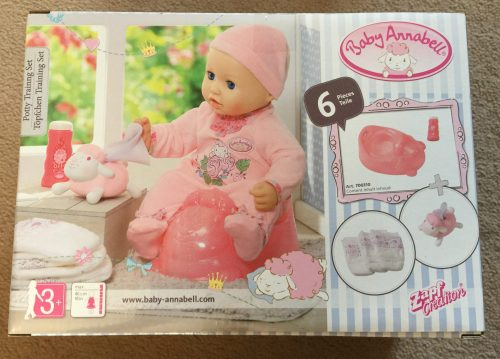 Brilliant Baby Based Role Play With The Baby Annabell Potty Training Set