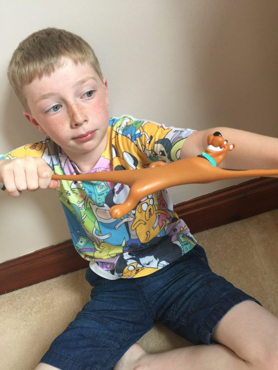 Sensory Success With The Stretch Scooby Doo Toy