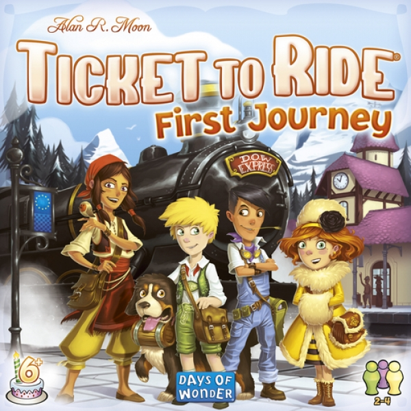 Embarking On A Gaming Journey With The 'Ticket To Ride' First Journey Game
