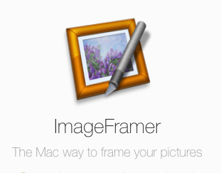 Framing It With 'ImageFramer Pro' from Apparent Software