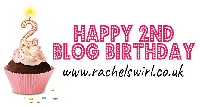 Happy 2nd Blog Birthday To Me!