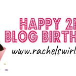Happy 2nd Blog Birthday To Me!