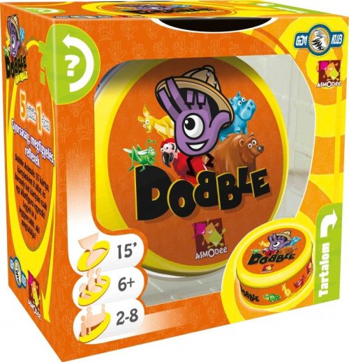 Double The Dobble Fun With Dobble Animals Edition
