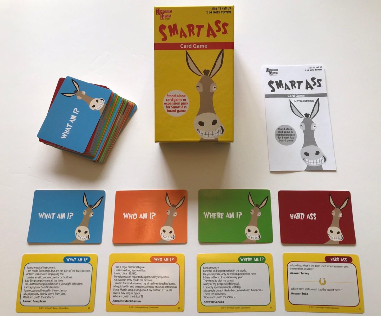 Smart Ass – The Fun, Fast & Factual Card Game