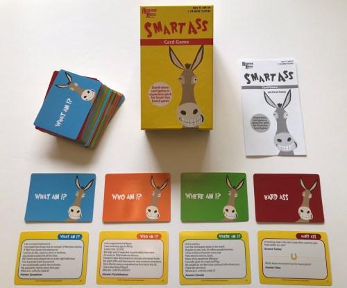 Smart Ass - The Fun, Fast & Factual Card Game