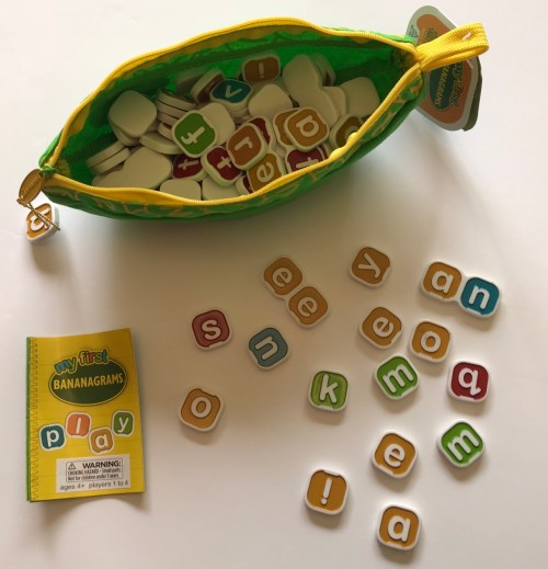 Building A Love For Literacy With The My First Bananagrams Game